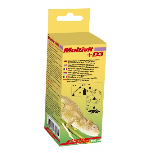 Lucky Reptile Multivit + D3 100ml