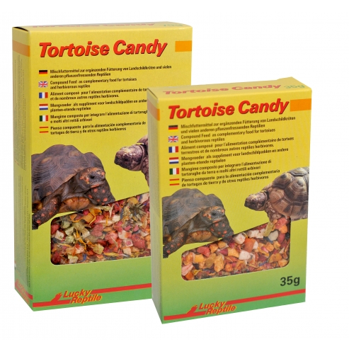 Lucky Reptile Tortoise Candy 35g EXP 07/2019
