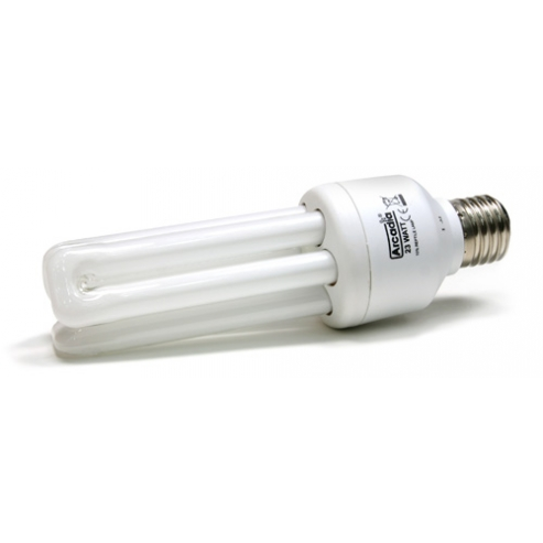 Arcadia Natural Sunlight Compact Reptile Lamp 20W 2.0 UVB