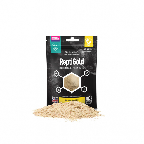 Arcadia EarthPro Jelly Pot Gold-Repti Gold 50g