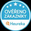 logo Heuréka ověřeno zákazníky